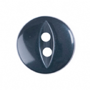 Fish Eye Button - Colour 019 Navy - Choose Size 11mm-19mm